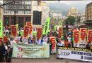 Segunda jornada de movilización contra la reforma Tributaria
