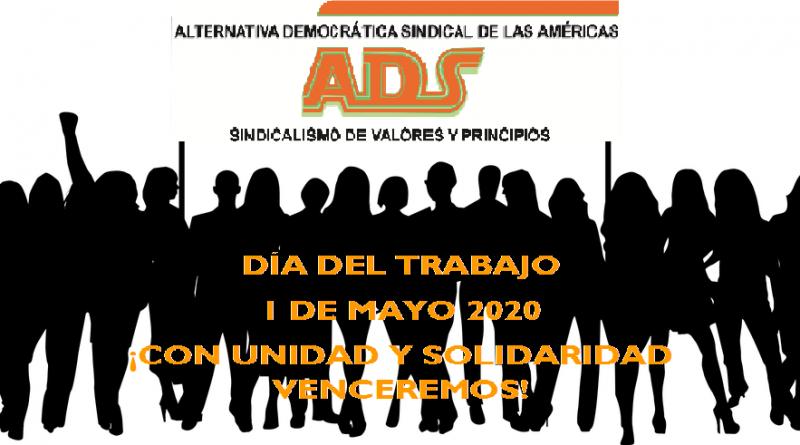 ADS saluda en el Día Internacional del Trabajo a los trabajadores de América Latina, el Caribe y el mundo