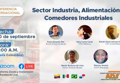 'COVID 19, Impactos para los trabajadores del sector Industria, Alimentación y Comedores Industriales'